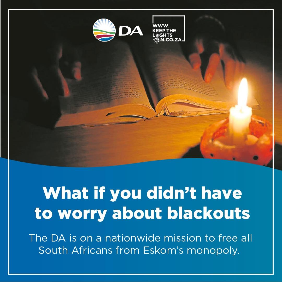 DA Solving Eskom woes