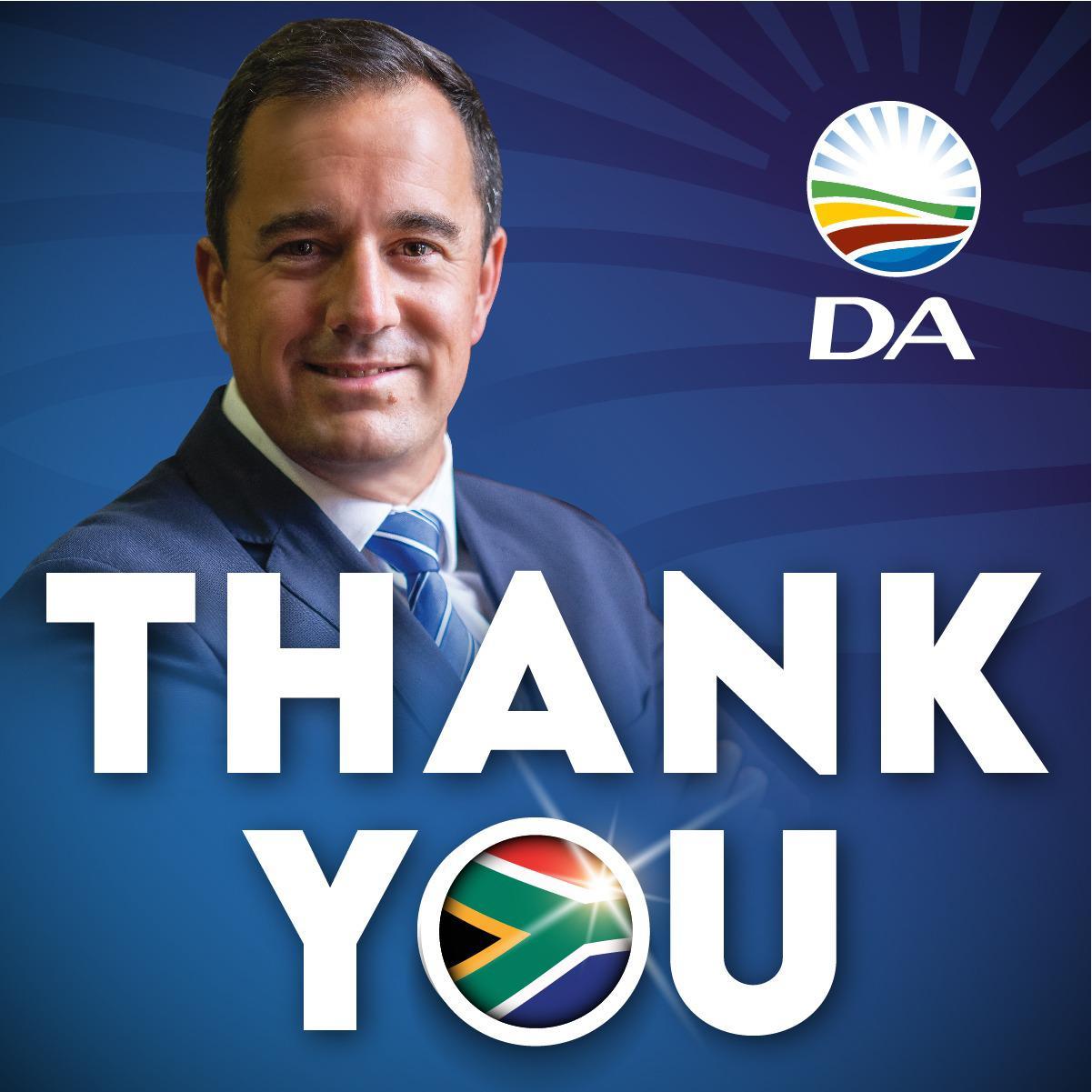 DA Leader Steenhuisen's Acceptance Speech