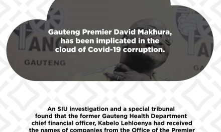ANC Premier and covid-19 PPE scandal