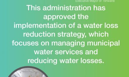 Tshwane mild water restrictions remain despite rainy season