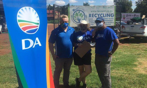DA Recycling day in centurion