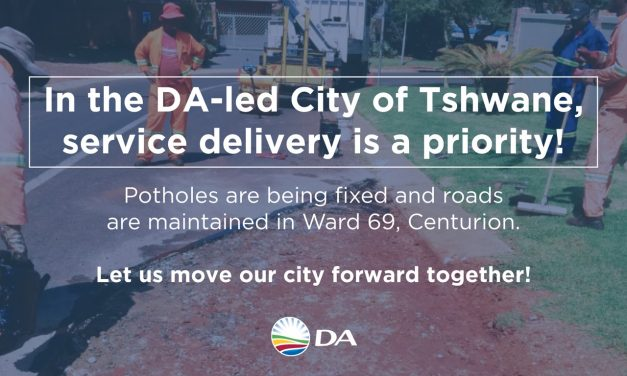 The DA difference is back in Tshwane