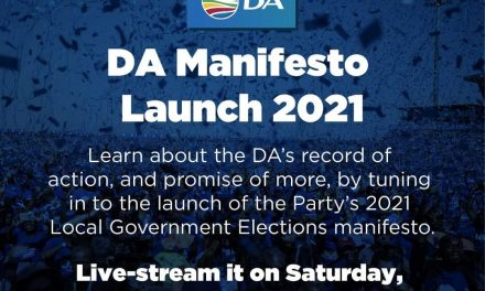 DA's first posters go up. Bring on the elections!