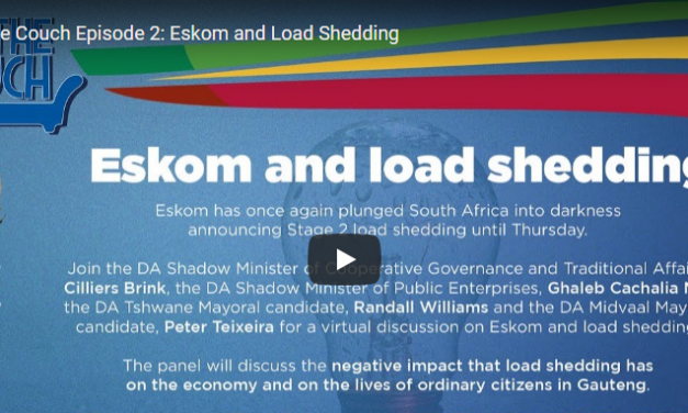 On The Couch Episode 2: Eskom and Load Shedding